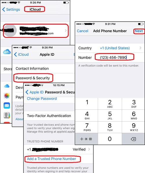 Add More Trusted Phone Number in Apple ID