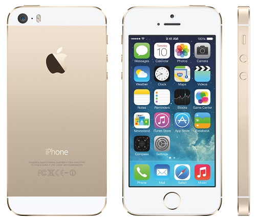 Apple iPhone 5s Phone Released in 2013