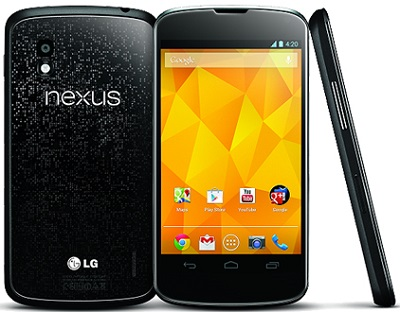 LG Nexus 4 Phone Released in 2012
