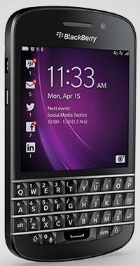 BlackBerry Q10 Phone Released in 2013