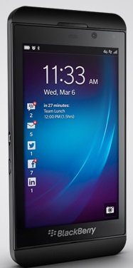 BlackBerry Z10 Phone Released in 2013