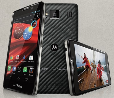 Motorola Droid Razr Maxx HD Phone Released in 2012