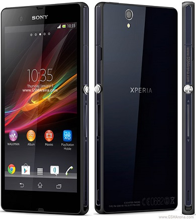 Sony Xperia Z Phone Released in 2013