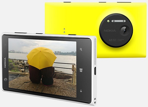 Nokia Lumia 1020 Phone Released in 2013