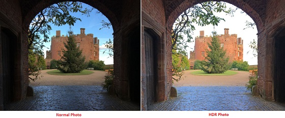 iPhone Camera Normal Photo and HDR Photo Comparison