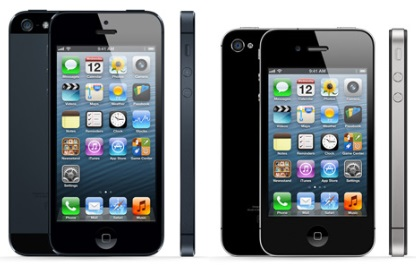 Apple iPhone 5 Comparing to iPhone 4